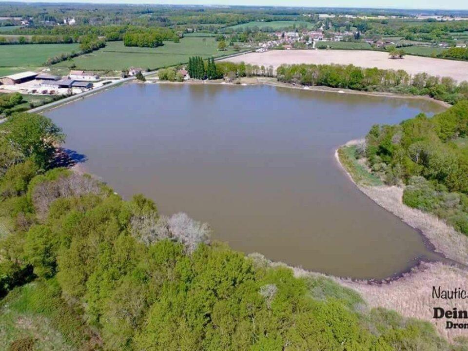 1 etang furet carp fishing lake in france